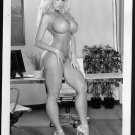 BLONDE MODEL TOTALLY NUDE NEW REPRINT PHOTO 5X7 #794