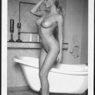 BLONDE MODEL TOTALLY NUDE HUGE NEW REPRINT PHOTO 5X7 #670