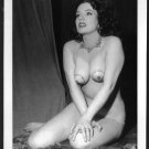STRIPPER BLAZE STARR TOPLESS HUGE FLOPPY BREASTS NEW REPRINT 5X7 #9