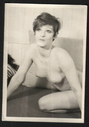 VINTAGE ORIGINAL DON FROOKS AMATEUR NUDE MODEL PHOTO 3 1/2 x 5 1951 #004