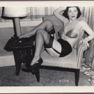 BUSTY ARLENE MAVER VINTAGE ORIGINAL IRVING KLAW PHOTO 4X5 #2136