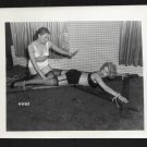 IRVING KLAW VINTAGE ORIGINAL FETISH BONDAGE PHOTO 4X5 #4503