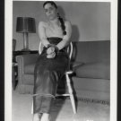 TOP FETISH BONDAGE MODEL VINTAGE ORIGINAL IRVING KLAW PHOTO 4X5 #COL-124