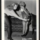 2 BLONDE FETISH BONDAGE MODELS VINTAGE ORIGINAL IRVING KLAW PHOTO 4X5 #PEN-106