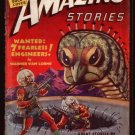 AMAZING STORIES GIANT BUG COVER BY ROBERT FUQUA FEB.1939 VG CONDITION
