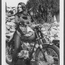 ACTRESS ANN MARGRET TRIUMPH MOTORCYCLE RIDING BABE NEW REPRINT  5X7  AM-33