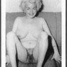 STRIPPER DIXIE EVANS TOTALLY NUDE HUGE BREASTS HAIRY PUSSY NEW REPRINT PHOTO 5X7 DE-9