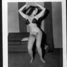 STRIPPER DORIAN DENNIS BUSTY BOSOMY POSE NEW REPRINT 5 X 7 #14