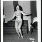 STRIPPER DORIAN DENNIS BUSTY BOSOMY POSE NEW REPRINT 5 X 7 #16