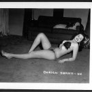 STRIPPER DORIAN DENNIS BUSTY BOSOMY POSE NEW REPRINT 5 X 7 #34
