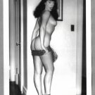BETTY PAGE TOTALLY NUDE BREASTS REARVU NEW REPRINT 5X7  #575