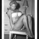 VIRGINIA BELL BUSTY IN WHITE BRA PANTIES POSE NEW REPRINT 5 X 7 #76