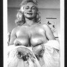 VIRGINIA BELL TOPLESS NUDE HUGE BREASTS NEW REPRINT 5 X 7 #153
