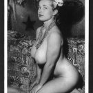 VIRGINIA BELL TOPLESS NUDE HUGE BREASTS NEW REPRINT 5 X 7 #161