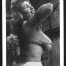 VIRGINIA BELL TOPLESS NUDE HUGE BREASTS NEW REPRINT 5 X 7 #187