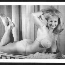VIRGINIA BELL BOSOMY BUSTY IN SEQUIN BRA NEW REPRINT 5 X 7 #197