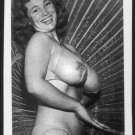 VIRGINIA BELL TOPLESS NUDE HUGE BREASTS NEW REPRINT 5 X 7 #219