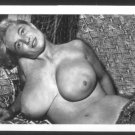 VIRGINIA BELL TOPLESS NUDE HUGE BREASTS NEW REPRINT 5 X 7 #252