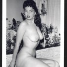 JACKIE MILLER TOTALLY NUDE BIG BREASTS POSE NEW REPRINT 5X7  JM-3
