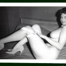 JACKIE MILLER TOTALLY NUDE BIG BREASTS POSE NEW REPRINT 5X7  JM-8