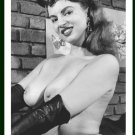 JACKIE MILLER TOPLESS NUDE BIG BREASTS POSE NEW REPRINT 5X7  JM-17