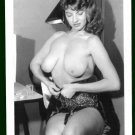 JACKIE MILLER TOPLESS NUDE BIG BREASTS POSE NEW REPRINT 5X7  JM-107