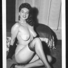 JACKIE MILLER TOPLESS NUDE BIG BREASTS POSE NEW REPRINT 5X7  JM-151