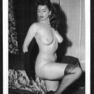 JACKIE MILLER TOPLESS NUDE BIG BREASTS POSE NEW REPRINT 5X7  JM-152