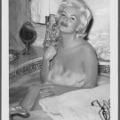 ACTRESS JAYNE MANSFIELD TOTALLY NUDE BATH POSE NEW REPRINT PHOTO 5X7 #119