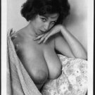 JULIE WILLS/WILLIAMS TOPLESS NUDE HUGE HEAVY HANGING BREASTS NEW REPRINT 5X7 JW-38