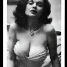 STRIPPER DORIAN DENNIS HUGE BREASTS CLEAVAGE POSE NEW REPRINT 5 X 7 #3