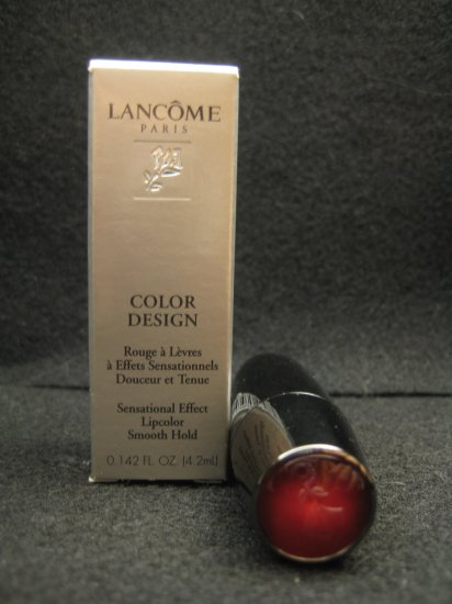 Lancôme Color Design Lipcolor in Too Hot to Handle (Sheen)
