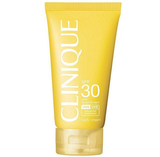 Clinique Sun SPF 30 Sunscreen Body Cream with SolarSmart