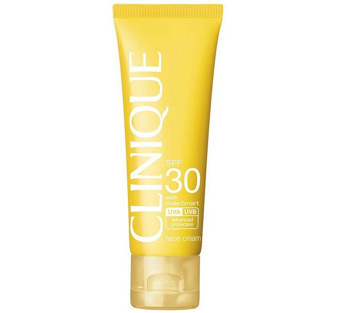 Clinique Sun SPF 30 Sunscreen Face Cream with SolarSmart