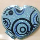 Blue Swirls Mirror