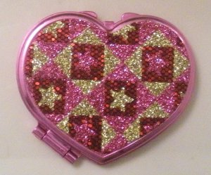 Pink Mirror with stars