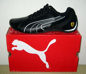 PUMA MEN FLUXION BLACK US 10