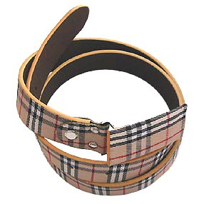 Burberry Classic Check Belt 01 Replica