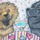 Do Chow Chows Have Martinis?