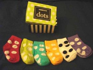 Trumpette Baby Soc.ks - Polka Dots (Girl) Baby shower gift
