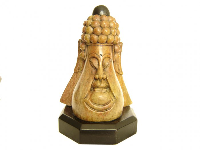 Hand carved Buddha