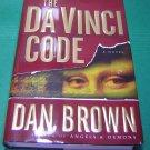 The Da Vinci Code  Dan Brown Book HCDJ