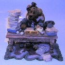Boyds Bears Monday Morning 1995 Ms. Griz Resin