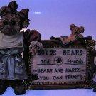 Boyds Bears Bearstone Bears & Hares Resin