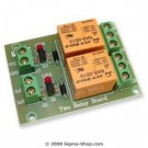 Two RELAY BOARD ready for your PIC, AVR project : 5V