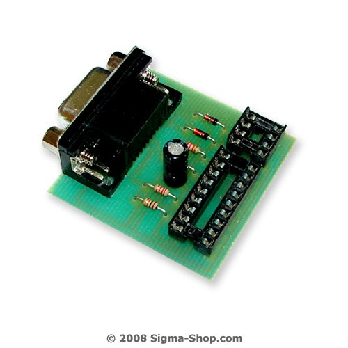 Simplified E-Eprom programmer for PIC 16F84 and 24Cxxx