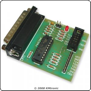 JTAG buffered Programmer for repair satellite receivers