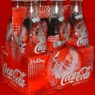 Coca Cola (Coke) Limited Santa Bottles from 2004 6-Pack 8 fl. oz.