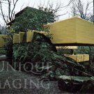 1979 Frank Lloyd Wright's Fallingwater West Elevation/Winter Extra Large Postcard FREE SHIPPING