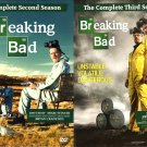 Breaking Bad: The Complete Second and Third Seasons 8-Discs LIKE NEW Free Shipping